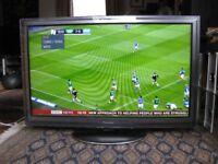 Panasonic Viera TX-L42D25B 42in LED LCD Full HD TV -- Faulty