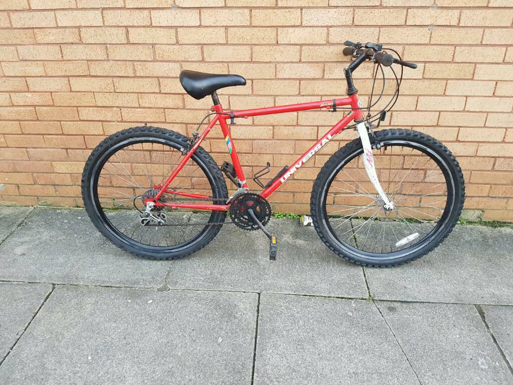 Universal mountain bike with 26 inch wheel size