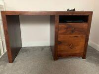 Sheesham wood desk