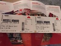 2 x Russell Howard tickets for Tuesday 7th March