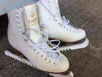 Ladies figure ice skates