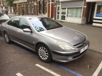 LEFT HAND DRIVE PEUGEOT 607 SALOON CAR,DRIVES PERFECTLY,ENGINE & MECHANICS,PAPER SORTED.CALL MARC