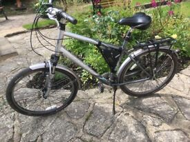 A pair of His 'n' Her quality bicycles TREK 200's, Shimano gears