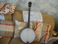 Tonewood Banjo, As New Condition (one side clamp missing)