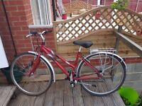 Ladies Raleigh Hybrid Bicycle