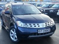 NISSAN MURANO HUGE SPECIFICATION AND REAL EYEFUL BENEFITTING FROM THE LOWER TAX (blue) 2005