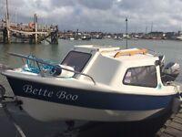 Silver Marine Piscator FRP400 pleasure boat cruiser 13ft