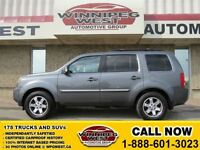 2011 Honda Pilot Dark Grey Touring Edition, 4x4, Leather, Sunroo