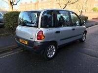 Fiat multipla 6 seats full fiat service history 12 month mot