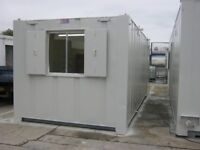 """21ft x 9ft Anti Vandal Portable Cabin FOR SALE """"Only £2250+VAT"""" welfare office shipping container"""