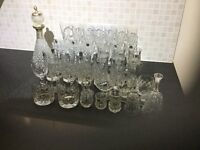 Collection of Lead Crystal Glasses