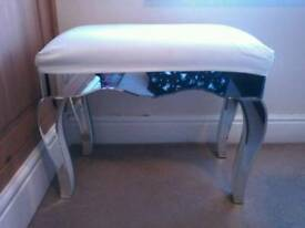Mirrored stool