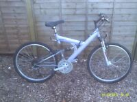 MONTE CARLO DUEL SUSPENSION ONE OF MANY QUALITY BICYCLES FOR SALE