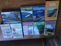 Railway DVDs & Videos x9