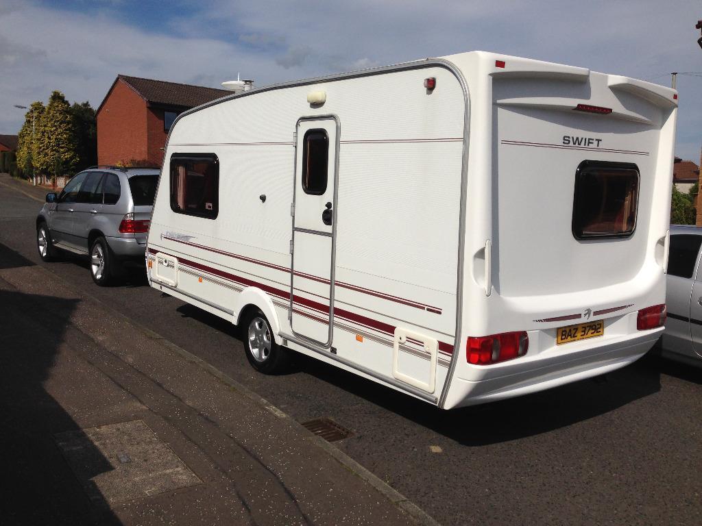 Elegant 2017 Elddis Avante 574  Wallace Caravans Kirkcaldy
