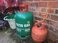 13kg gas cylinder propane 3/4 full