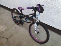 Apollo 24 inch full suspension kids bike
