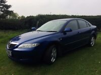 CHEAP MAZDA 6 LOW MILEAGE FULL SERVICE HISTORY AND YEARS MOT