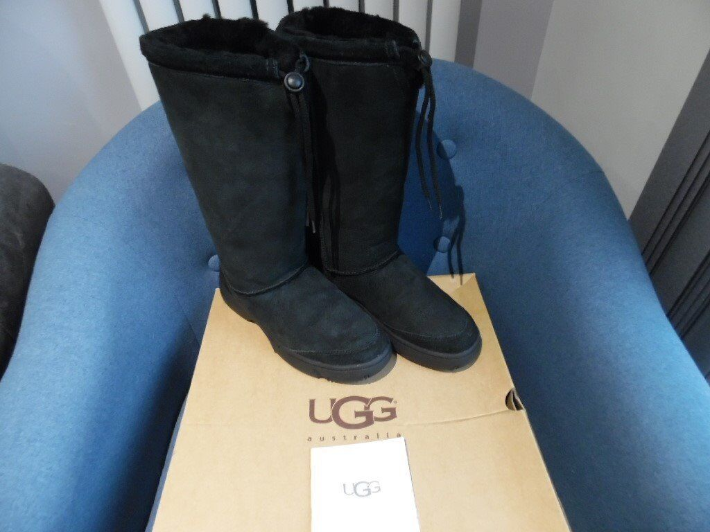 f95a484ef7d BRAND NEW 100% GENUINE ULTIMATE TALL WOMENS UGG BOOTS SIZE 7 IN BLACK | in  Poole, Dorset | Gumtree