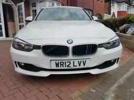 BMW 3 SERIES WHITE 2012 NEW SHAPE