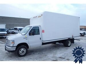 2016 Ford E-450 16 ft Cube Van Rear Wheel Drive - 14,294 KMs