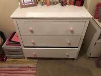 Chest of Draws and Mirror