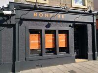 Chefs needed for brand new opening Bonfire Restaurant