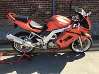2003 Suzuki sv650s fully faired Bargain no offers