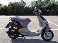 2002 PIAGGIO ZIP 50 2T SCOOTER MOPED 3 OWNER VGC 2731 MILES RUNS A1 NEW MOT &TAX