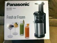 Panasonic slow juicer like new condition