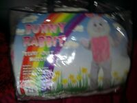 Bunny mascot costume. Adult size.