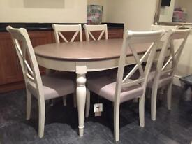 Bentley design table plus 6chairs