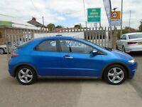 HONDA CIVIC 1.8 i-VTEC ES Hatchback i-Shift 5dr Auto (blue) 2006