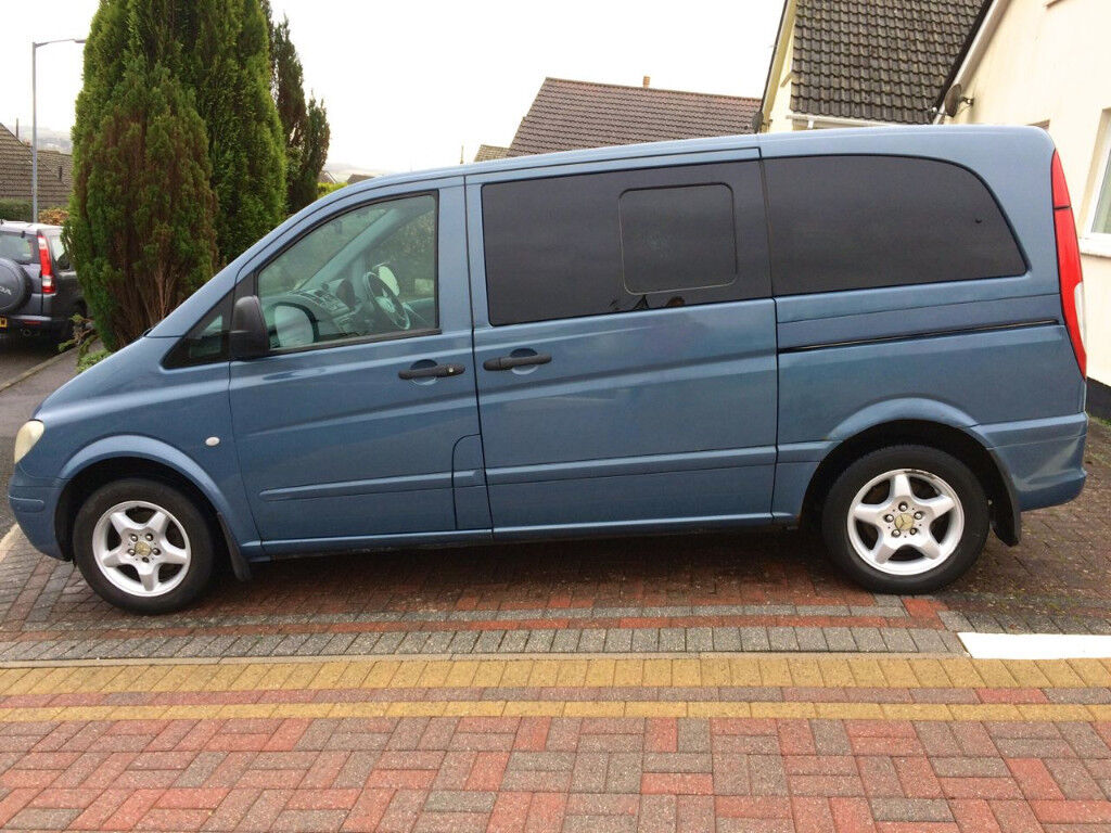 2004 Mercedes Vito 115 Cdi Compact Dualiner In St