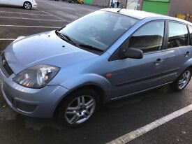 Ford Fiesta style 07 plate