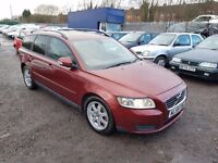 Volvo V50 1.6 D DRIVe S 5dr, 1 FORMER KEEPER. FSH. HPI CLEAR. DIESEL. GOOD CONDITION. P.X WELCOME