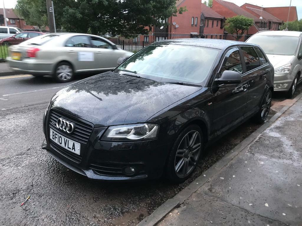 Audi A3 Mk2 Black 2litre Tdi Quattro 2010 Manual S Line Black Edition 117k In Aston West Midlands Gumtree