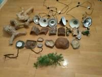 Job lot Of reptile accessories