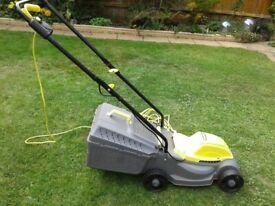 Challenge 31cm Corded Rotary Lawnmower - 1000W - Model: 1031M