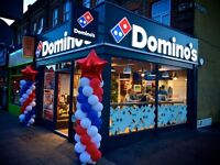 Earn £7.50 per hour at DOMINO'S PIZZA DELIVERY DRIVERS WANTED LONDON-New Malden