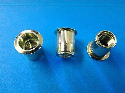 Rivet Nuts 38-16 Steel 10pc Buy 3 Or More 10 Rebate Rivnut Riv Nut Nutsert