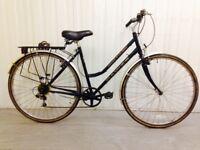 good Dawes Hybrid Ladies city bike 18 speed Lightweight Small Frame Serviced Warranty