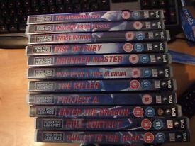 Hong Kong Legends martial arts dvds