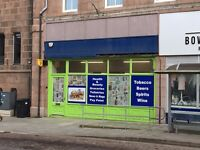Licensed Premises/Retail Shop Available