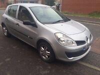 2006 Renault Clio, 1.5 Litre Diesel, £30/year tax, 43k miles, MOT 19/12/16 electric Windows, Alloys