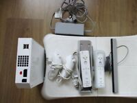 Wii bundle, console, wii fit board, wiimotes & numchucks, 15 games