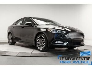 2017 Ford Fusion SE,AWD,CUIR,TOIT,NAVIGATION,MAGS