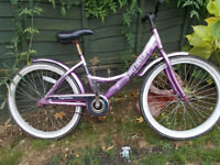small ladies / teens cruiser bike ,