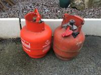 2 x Calor Gas Bottles 3.9kg