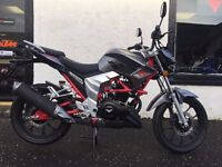 Lexmoto Venom SE 125 125cc Streetfighter Naked Motorcycle Flexible Payment Terms Nationwide Delivery
